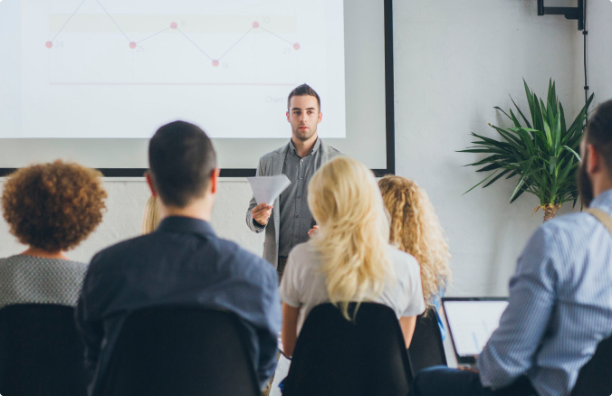 Designing engaging training sessions and meetings